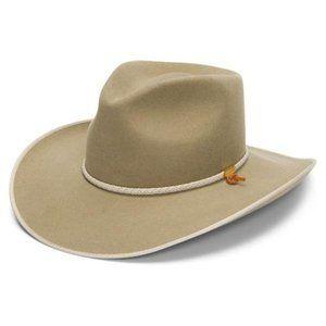 Stetson Wool Felt Cowboy Hat in Silverbelly
